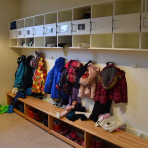 Die Garderoben der PAS