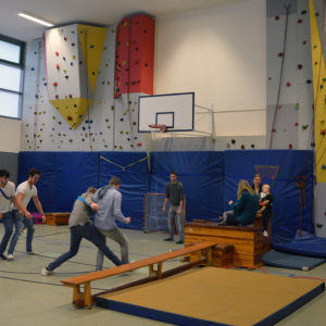 Tag der offenen Schule - Sporthalle