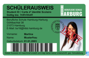 Neuer Schülerausweis
